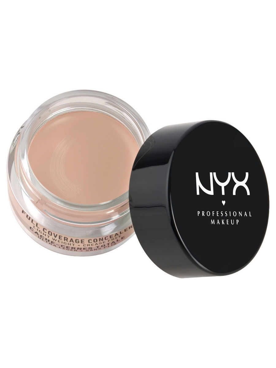 Корректоры NYX PROFESSIONAL MAKEUP Консилер для глаз CONCEALER JAR - LIGHT 03 nyx cosmetics concealer jar beige 0 25 ounce