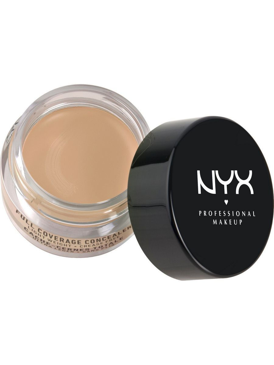 Корректоры NYX PROFESSIONAL MAKEUP Консилер для глаз. CONCEALER JAR - MEDIUM корректоры nyx professional makeup консилер для глаз concealer jar orange