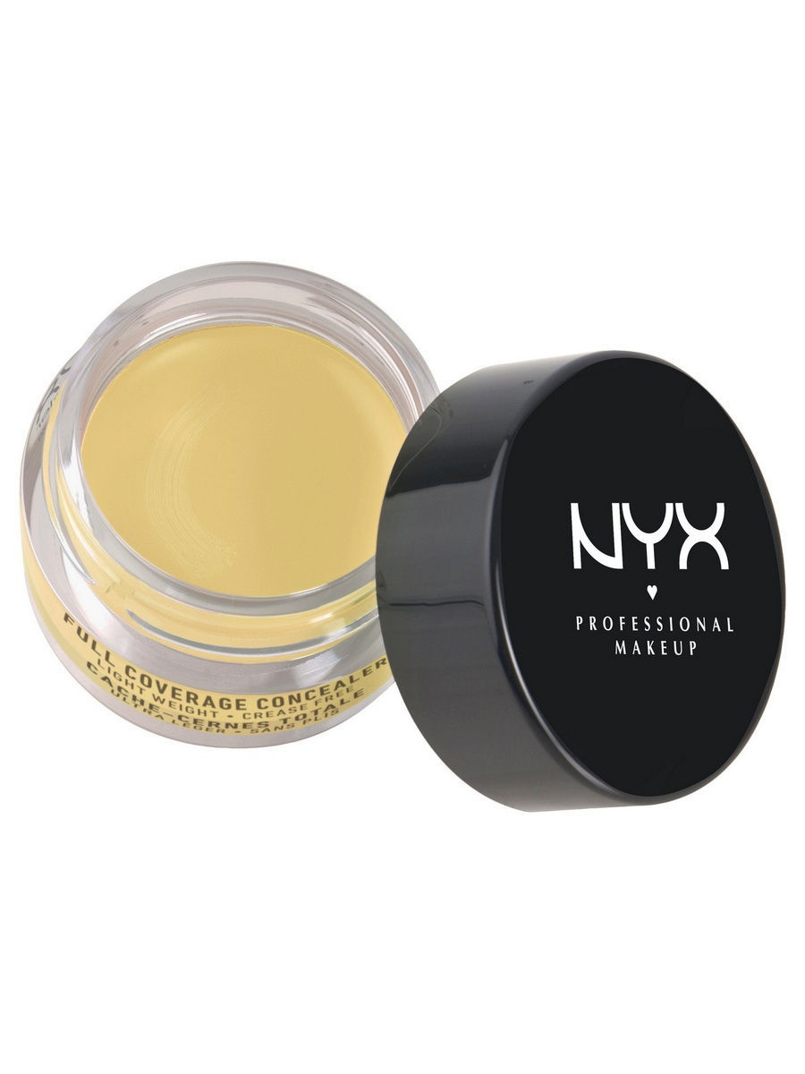 Корректоры NYX PROFESSIONAL MAKEUP Консилер для глаз CONCEALER JAR - YELLOW 10 nyx cosmetics concealer jar beige 0 25 ounce