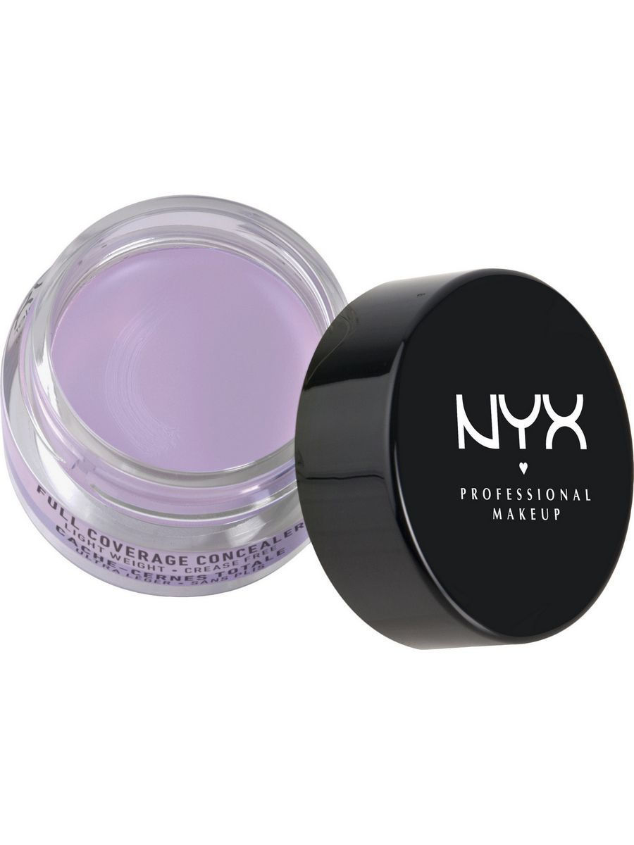 Корректоры NYX PROFESSIONAL MAKEUP Консилер для глаз. CONCEALER JAR - LAVENDER корректоры nyx professional makeup консилер для глаз concealer jar orange