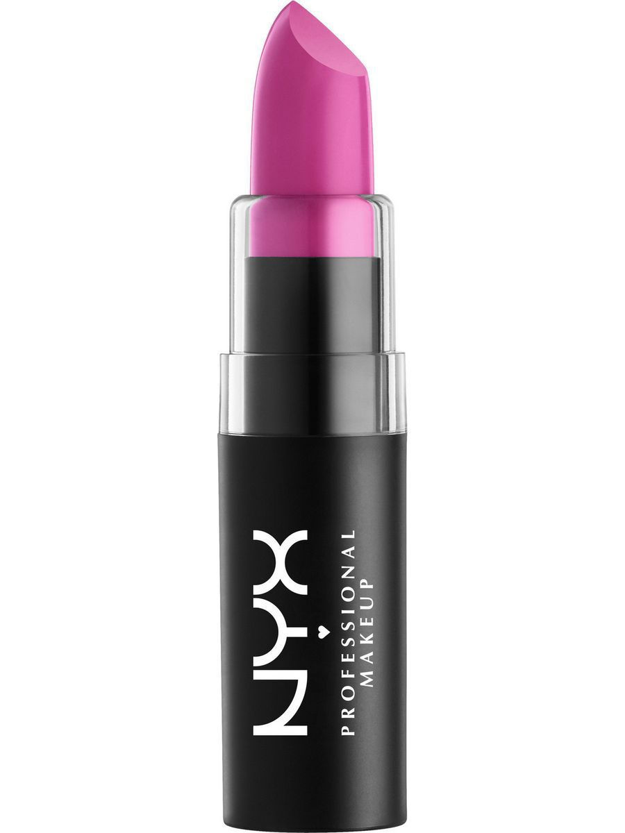 Помады NYX PROFESSIONAL MAKEUP Матовая губная помада MATTE LIPSTICK - SHOCKING PINK 02 помады nyx professional makeup матовая губная помада matte lipstick strawberry daiquiri 22