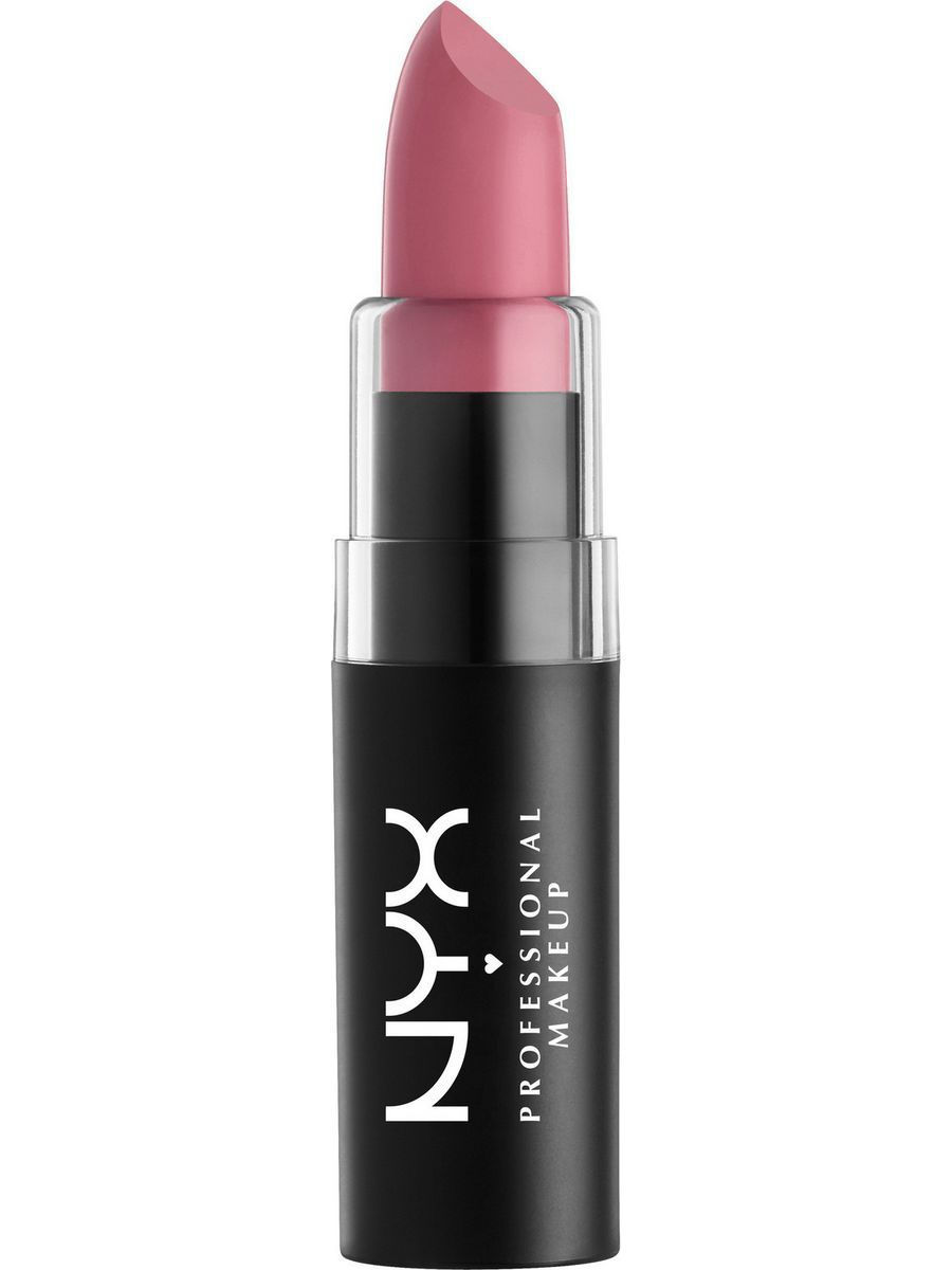 Помады NYX PROFESSIONAL MAKEUP Матовая губная помада MATTE LIPSTICK - TEA ROSE 11 помады nyx professional makeup матовая губная помада matte lipstick strawberry daiquiri 22