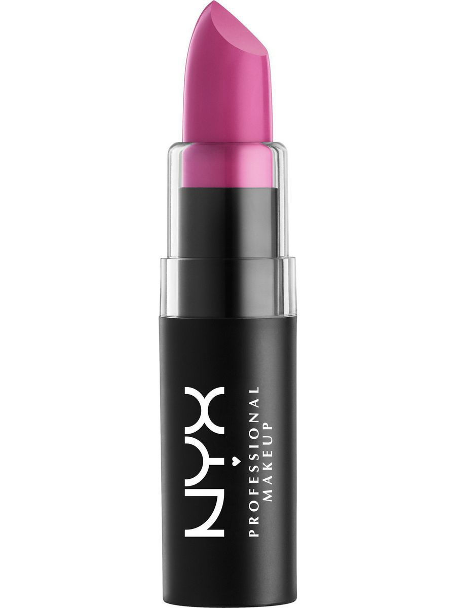 Помады NYX PROFESSIONAL MAKEUP Матовая губная помада MATTE LIPSTICK - SWEET PINK 17 помады nyx professional makeup матовая губная помада matte lipstick strawberry daiquiri 22