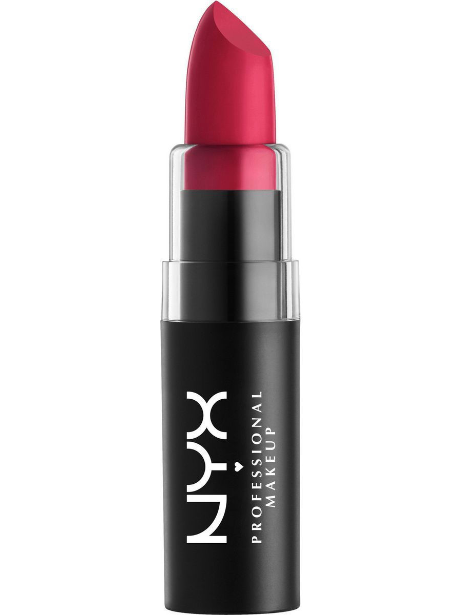 Помады NYX PROFESSIONAL MAKEUP Матовая губная помада MATTE LIPSTICK - BLOODY MARY 18 nyx big