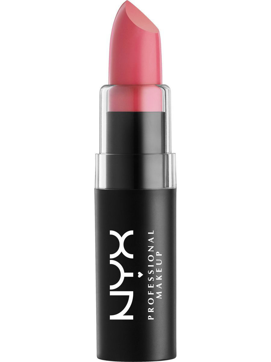 Помады NYX PROFESSIONAL MAKEUP Матовая губная помада MATTE LIPSTICK - STREET CRED 24 помады nyx professional makeup матовая губная помада matte lipstick strawberry daiquiri 22