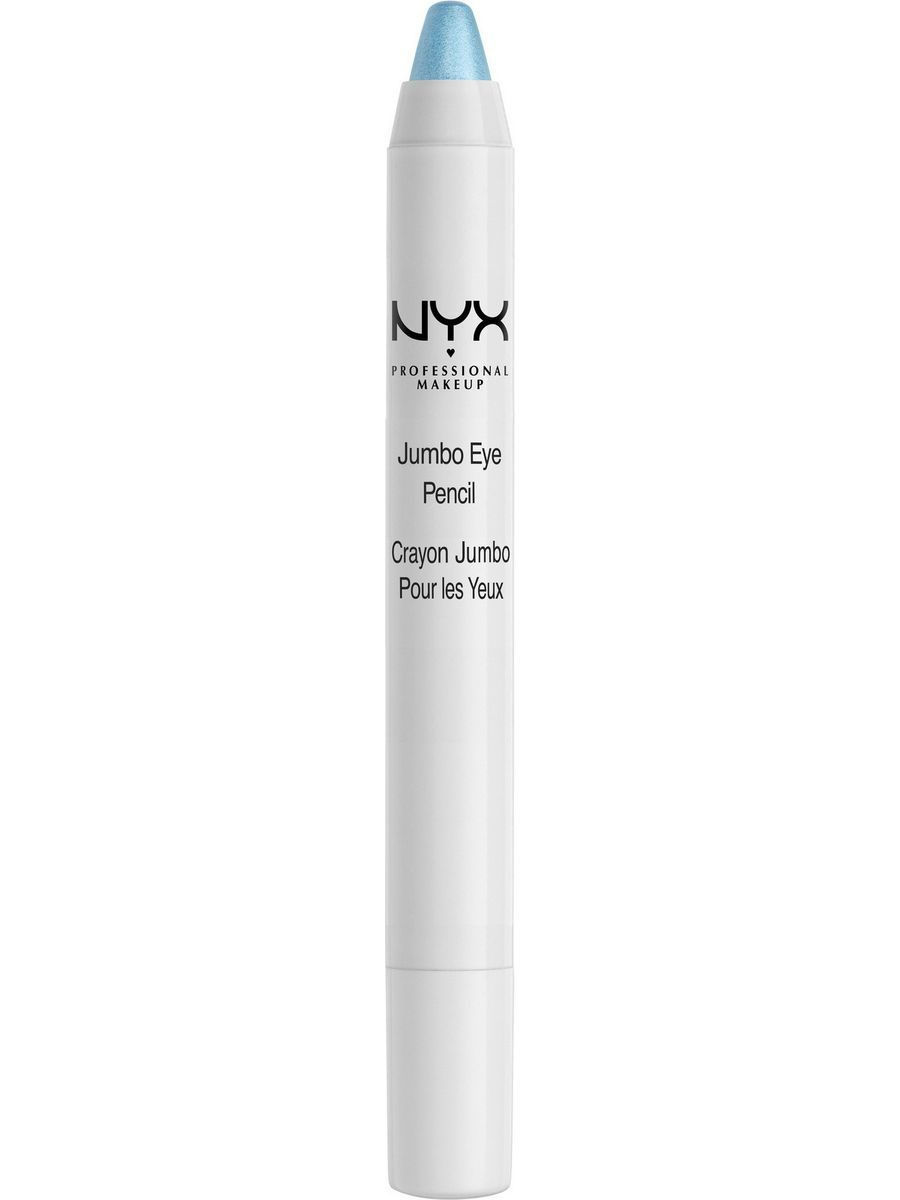 Косметические карандаши NYX PROFESSIONAL MAKEUP Карандаш для глаз JUMBO EYE PENCIL - BABY BLUE 606 косметические карандаши nyx professional makeup карандаш для глаз jumbo eye pencil dark brown 602