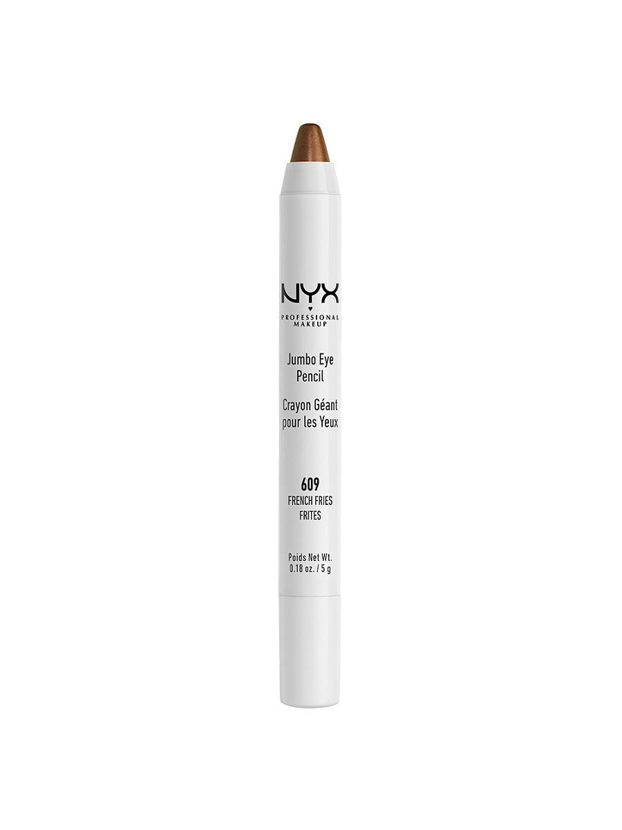 Косметические карандаши NYX PROFESSIONAL MAKEUP Карандаш для глаз JUMBO EYE PENCIL - FRENCH FRIES 609 косметические карандаши nyx professional makeup карандаш для глаз jumbo eye pencil dark brown 602