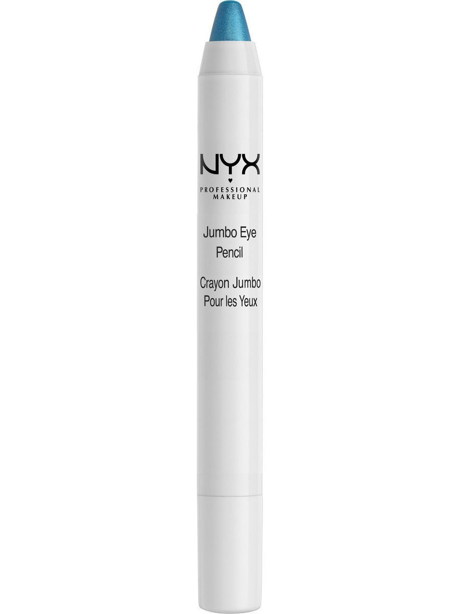 Косметические карандаши NYX PROFESSIONAL MAKEUP Карандаш для глаз JUMBO EYE PENCIL - ELECTRIC BLUE 622 косметические карандаши nyx professional makeup карандаш для глаз jumbo eye pencil dark brown 602