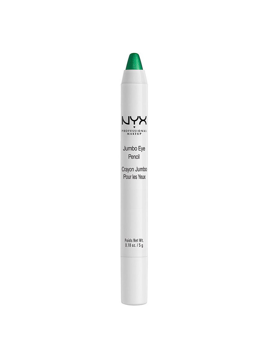 Косметические карандаши NYX PROFESSIONAL MAKEUP Карандаш для глаз JUMBO EYE PENCIL - ROCKY MOUNTAIN GREEN 624 косметические карандаши nyx professional makeup карандаш для глаз jumbo eye pencil dark brown 602