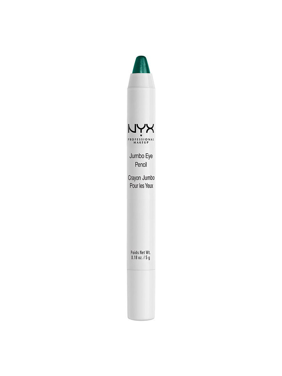Косметические карандаши NYX PROFESSIONAL MAKEUP Карандаш для глаз JUMBO EYE PENCIL - SPARKLE GREEN 629 косметические карандаши nyx professional makeup карандаш для глаз jumbo eye pencil dark brown 602