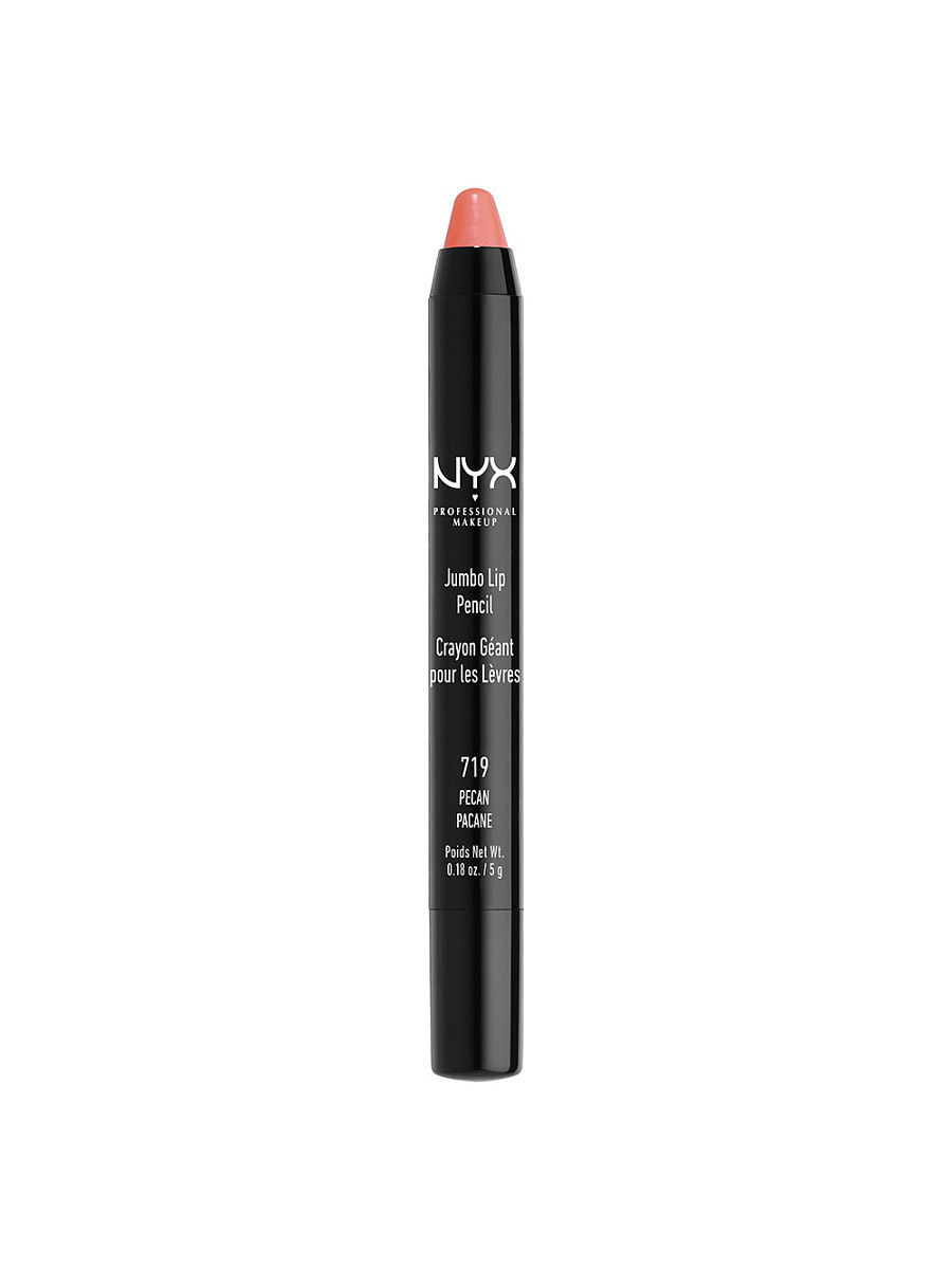 Помады NYX PROFESSIONAL MAKEUP Карандаш для губ Джамбо JUMBO LIP PENCIL - PECAN 719 карандаш для губ limoni lip pencil 27 цвет 27 variant hex name da9689