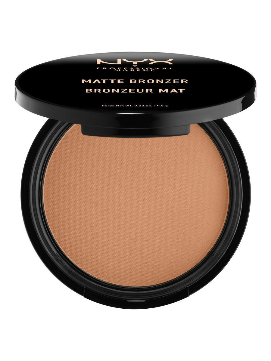 Пудры NYX PROFESSIONAL MAKEUP Матовая бронзирующая пудра MATTE BODY BRONZER - LIGHT 01 глиттер для лица и тела face & body glitter gunmetal nyx professional makeup