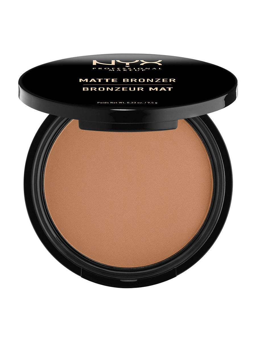 Пудры NYX PROFESSIONAL MAKEUP Матовая бронзирующая пудра MATTE BODY BRONZER - MEDIUM 03 глиттер для лица и тела face & body glitter gunmetal nyx professional makeup