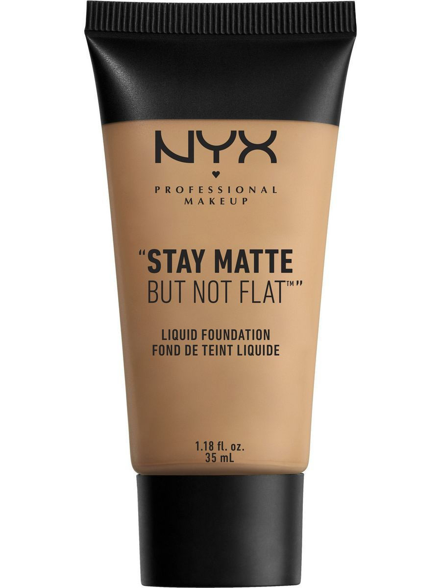Тональные кремы NYX PROFESSIONAL MAKEUP Матирующая тональная основа. STAY MATTE BUT NOT FLAT LIQUID FOUNDATION - GOLDEN BEIGE 08 nyx professional makeup матирующая тональная основа stay matte not flat liquid foundation light beige 015