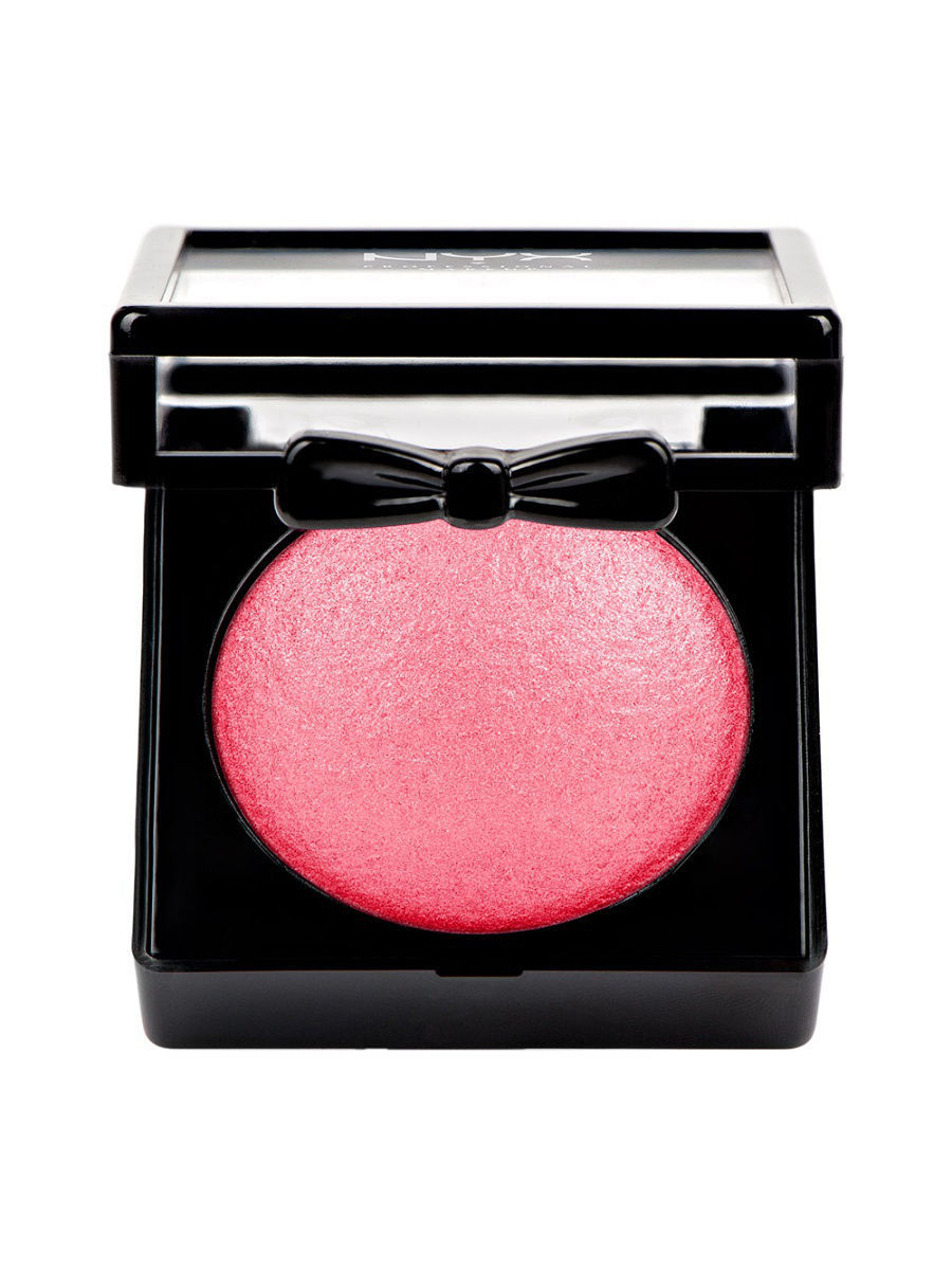 Румяна NYX PROFESSIONAL MAKEUP Запеченные румяна BAKED BLUSH BAKED BLUSH - STATEMENT RED 02 румяна nyx professional makeup палетка румян sweet cheeks blush palette
