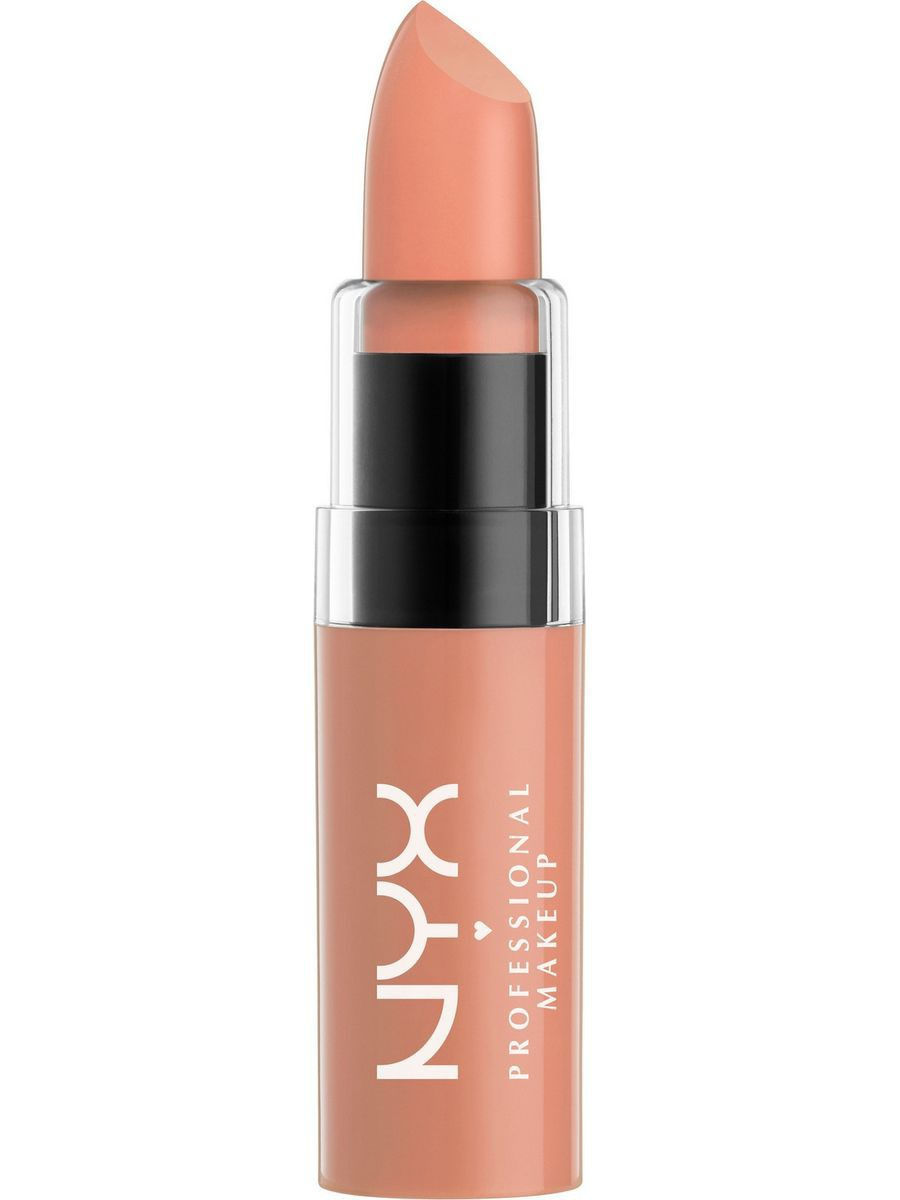 Помады NYX PROFESSIONAL MAKEUP Увлажняющая помада BUTTER LIPSTICK - SNOW CAP 03 nyx professional makeup увлажняющая помада butter lipstick daydreaming 25