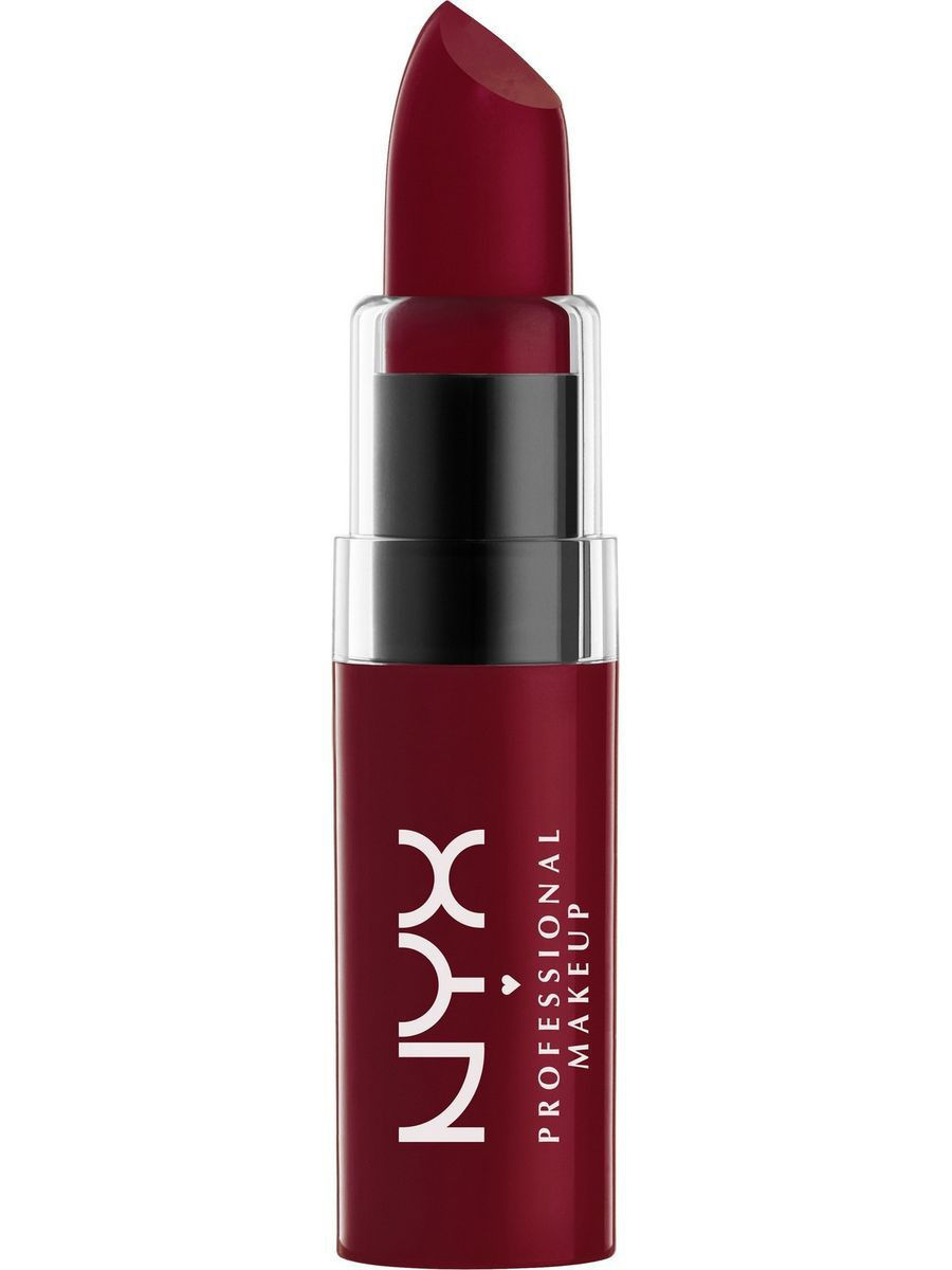 Помады NYX PROFESSIONAL MAKEUP Увлажняющая помада BUTTER LIPSTICK - LICORICE 11 nyx professional makeup увлажняющая помада butter lipstick daydreaming 25