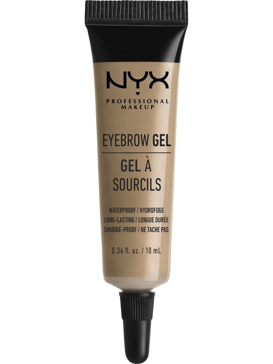 Гели NYX PROFESSIONAL MAKEUP Гель для бровей EYEBROW GEL - BLONDE 01 гель для бровей с микроволокнами eyebrow booster filling effect 6 8мл