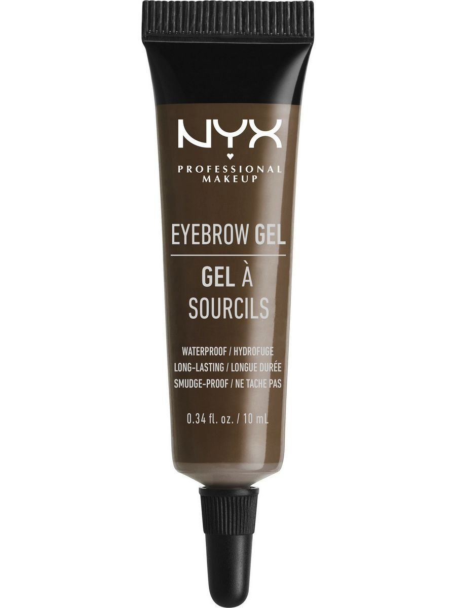 Гели NYX PROFESSIONAL MAKEUP Гель для бровей EYEBROW GEL - ESPRESSO 04 гель для бровей с микроволокнами eyebrow booster filling effect 6 8мл