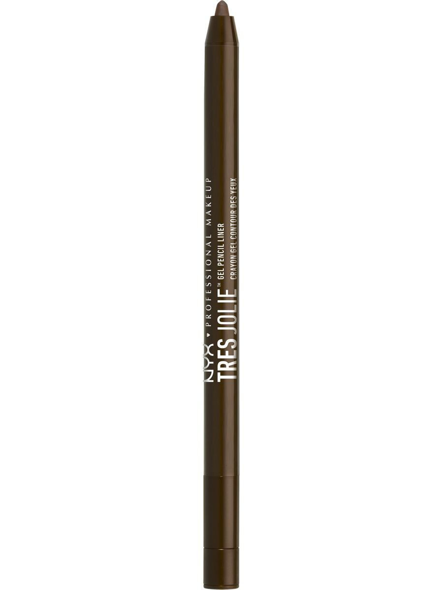 Косметические карандаши NYX PROFESSIONAL MAKEUP Гелевый карандаш для контура глаз TRES JOLIE GEL PENCIL LINER - BROWN 02 new women pumps transparent wedges high heels ankle pointed toe high heels pring autumn sexy shoes woman platform pumps