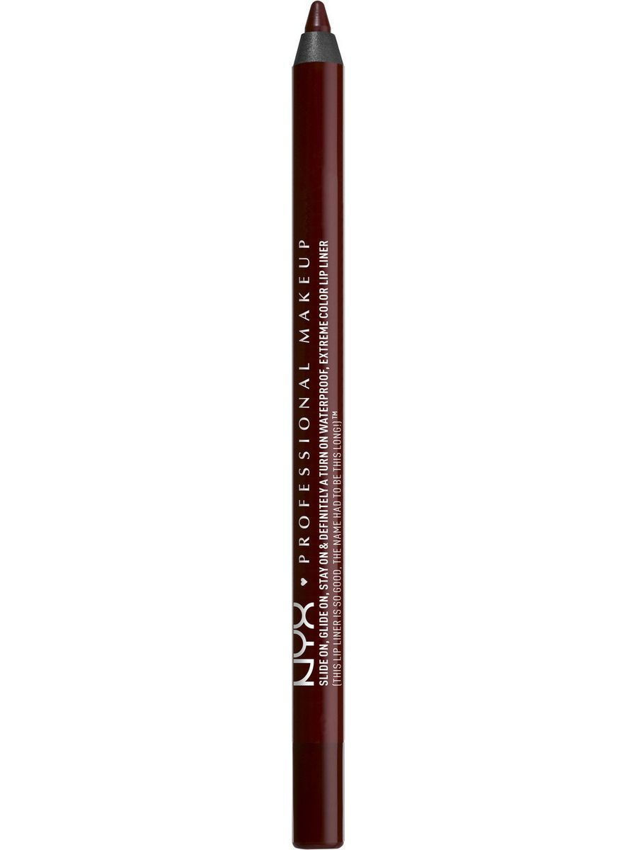 Косметические карандаши NYX PROFESSIONAL MAKEUP Стойкий карандаш для губ SLIDE ON LIP PENCIL - DARK SOUL 01 new original delta ecma c30602es ab 200w servo driver warranty for 1 year