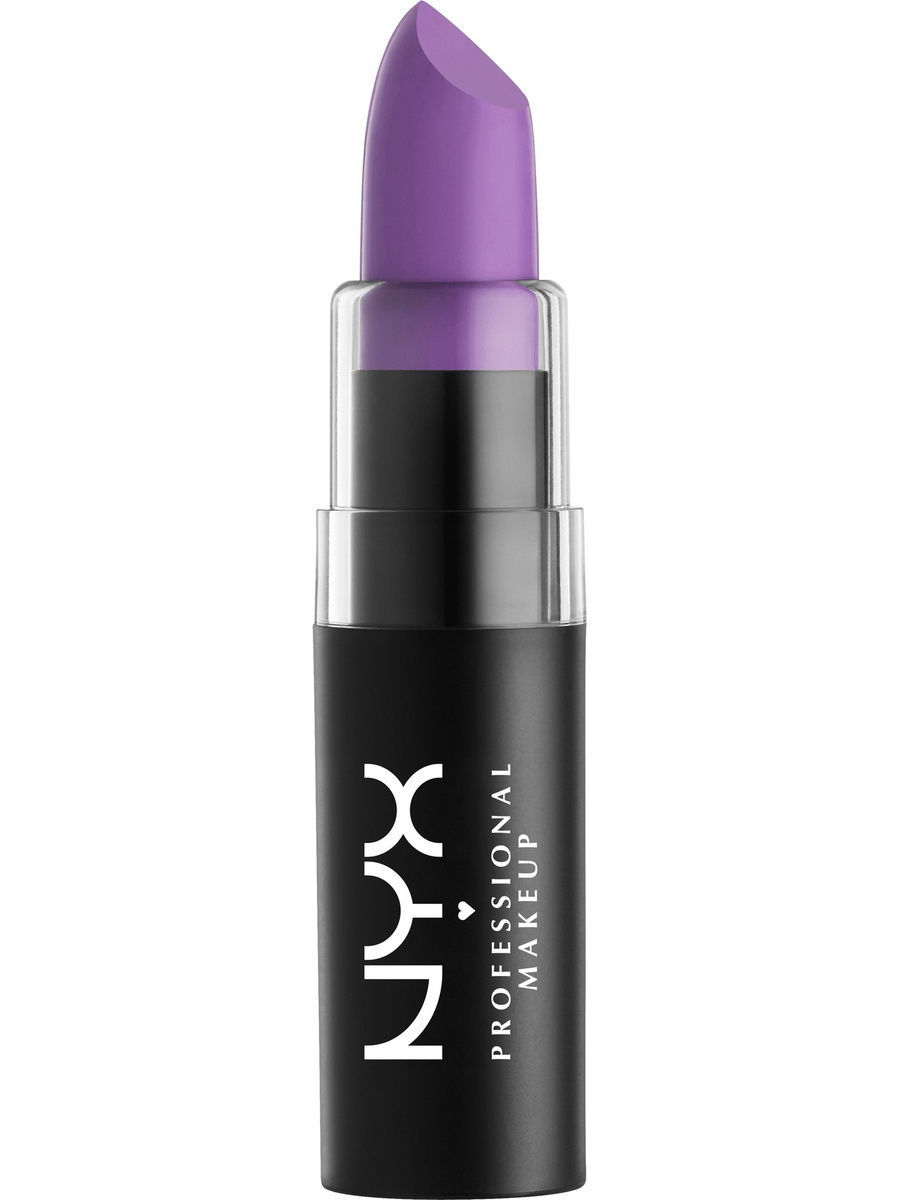 Помады NYX PROFESSIONAL MAKEUP Матовая губная помада MATTE LIPSTICK - ZEN ORCHID 36 помады nyx professional makeup матовая губная помада matte lipstick strawberry daiquiri 22