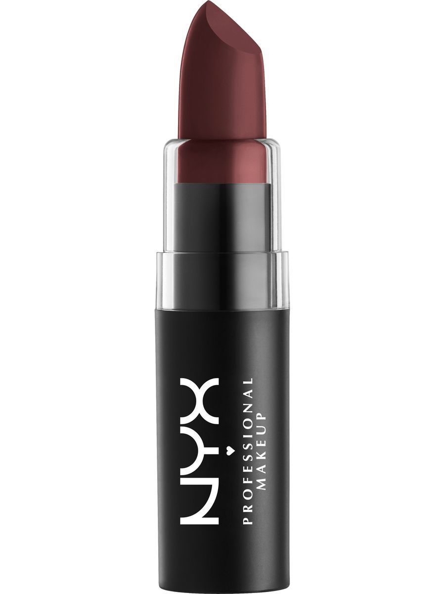 Помады NYX PROFESSIONAL MAKEUP Матовая губная помада MATTE LIPSTICK - DARK ERA 37 помады nyx professional makeup матовая губная помада matte lipstick strawberry daiquiri 22
