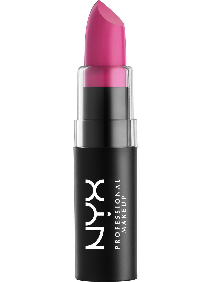 Помады NYX PROFESSIONAL MAKEUP Матовая губная помада MATTE LIPSTICK - GIRL CRUSH 39 помады nyx professional makeup матовая губная помада matte lipstick strawberry daiquiri 22