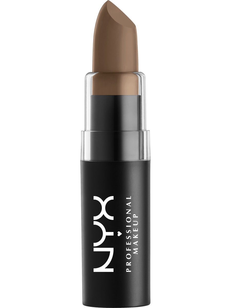 Помады NYX PROFESSIONAL MAKEUP Матовая губная помада MATTE LIPSTICK - MINX 44 помады nyx professional makeup матовая губная помада matte lipstick strawberry daiquiri 22