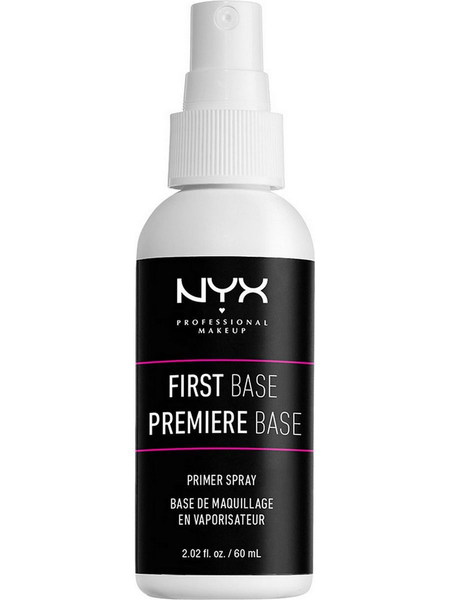 Основы под макияж NYX PROFESSIONAL MAKEUP Спрей-праймер для лица FIRST BASE MAKEUP PRIMER SPRAY 01 праймер nyx professional makeup big