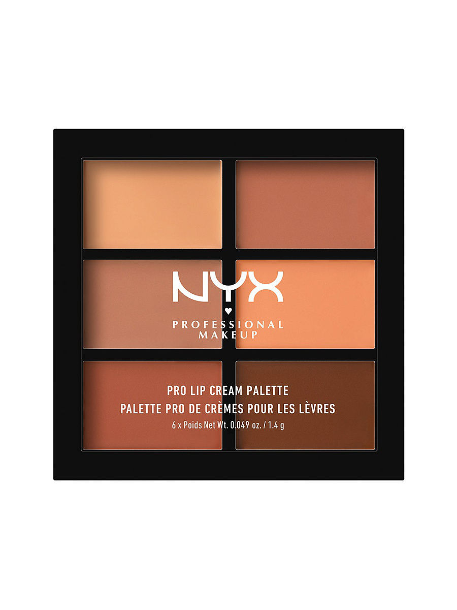 Помады NYX PROFESSIONAL MAKEUP Палетка помады для губ. PRO LIP CREAM PALETTE - NUDES 02 тени bourjois палетка теней palette les nudes тон 01