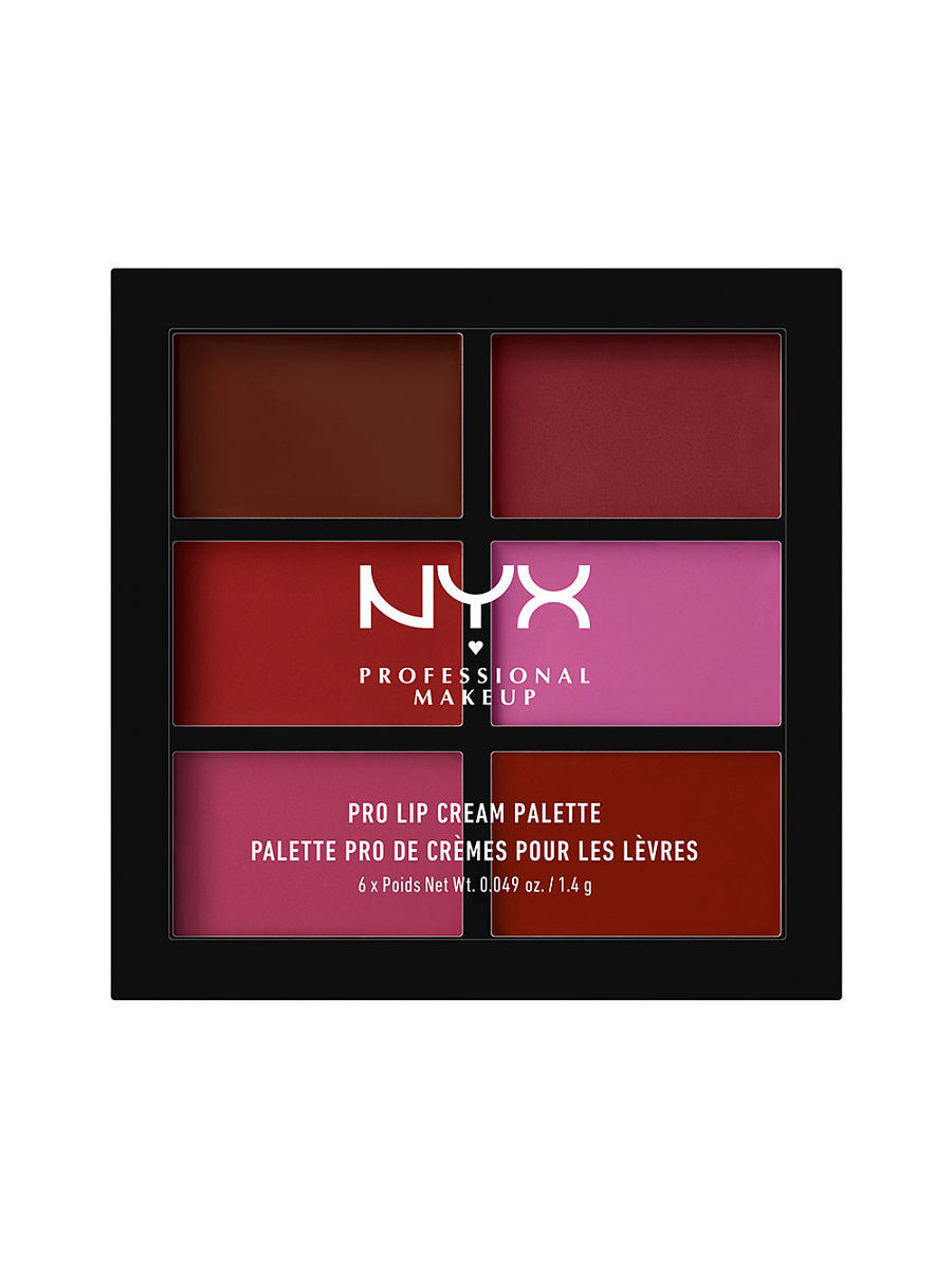 купить Помады NYX PROFESSIONAL MAKEUP Палетка помады для губ. PRO LIP CREAM PALETTE - VAMPS 04 недорого