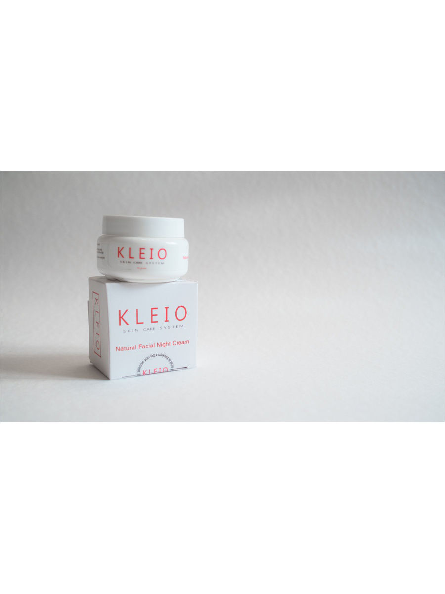 Кремы Kleio Skin Care System Крем для лица Kleio Skin Care System Natural Facial Night Cream regenerating night cream