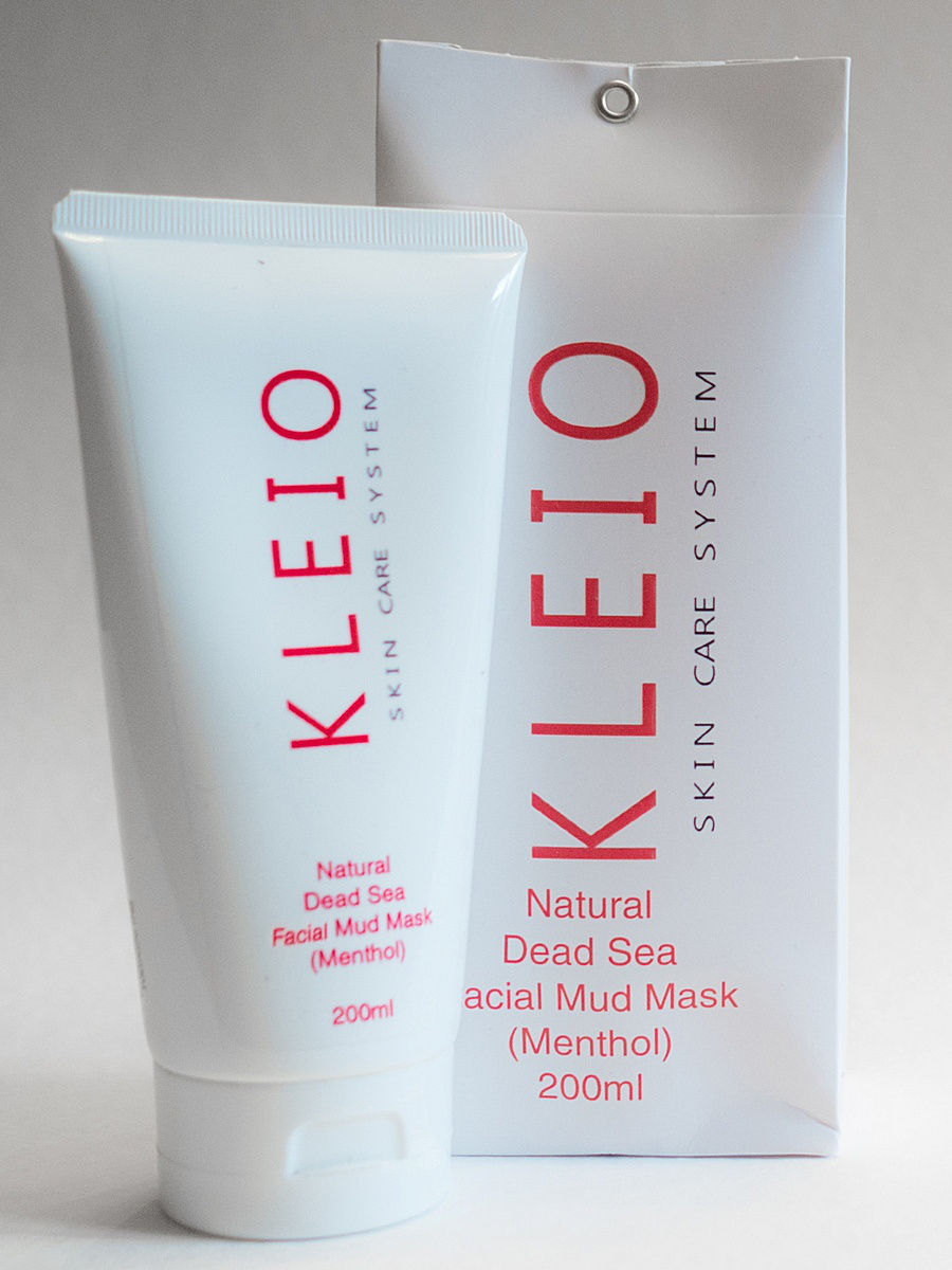Косметические маски Kleio Skin Care System Маска для лица Natural Facial Mask   with Dead Sea Mud (Mint) маска sea of spa rich facial mud mask