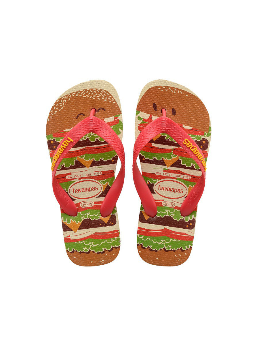 Шлепанцы HAVAIANAS KIDS TOP FAST FOOD