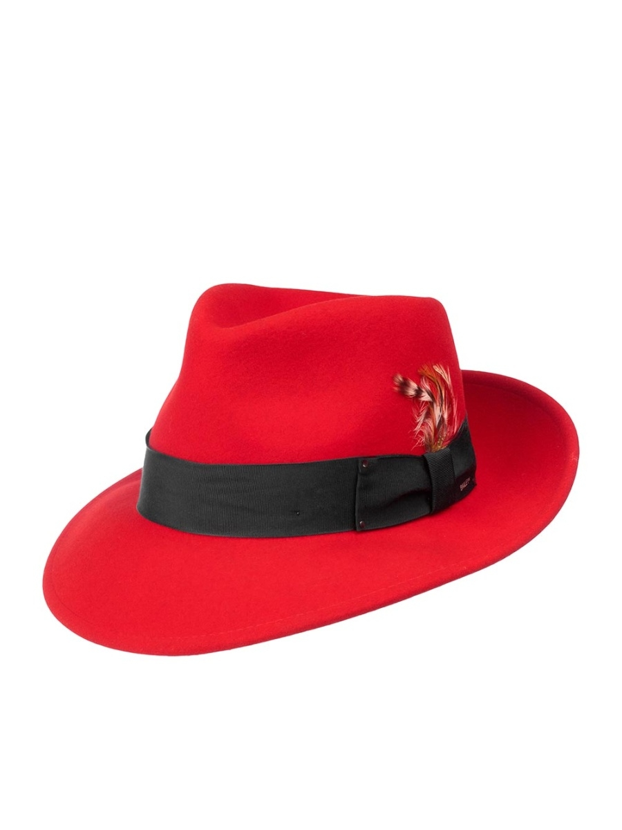 Шляпа Bailey 7002FEDORA.red