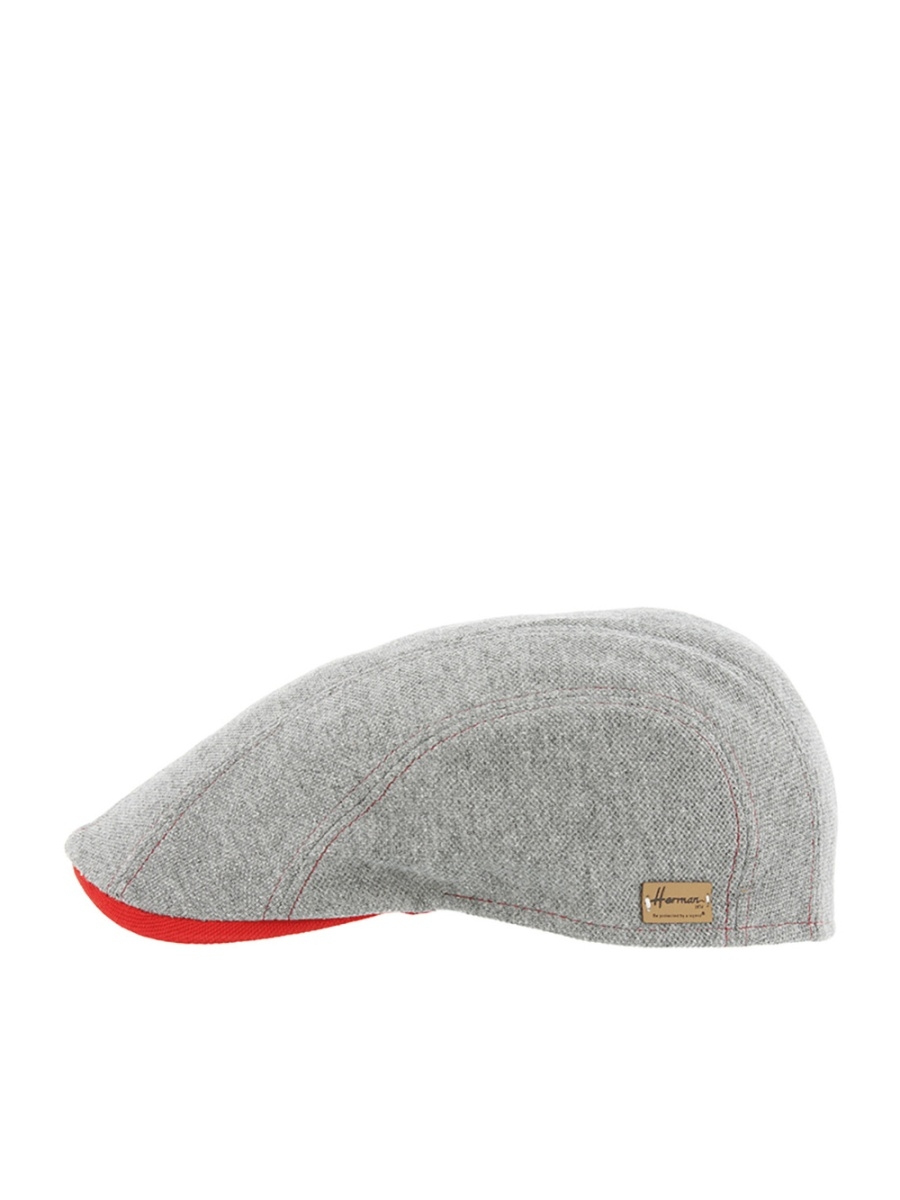 Кепка HERMAN BADGERPOLO.grey