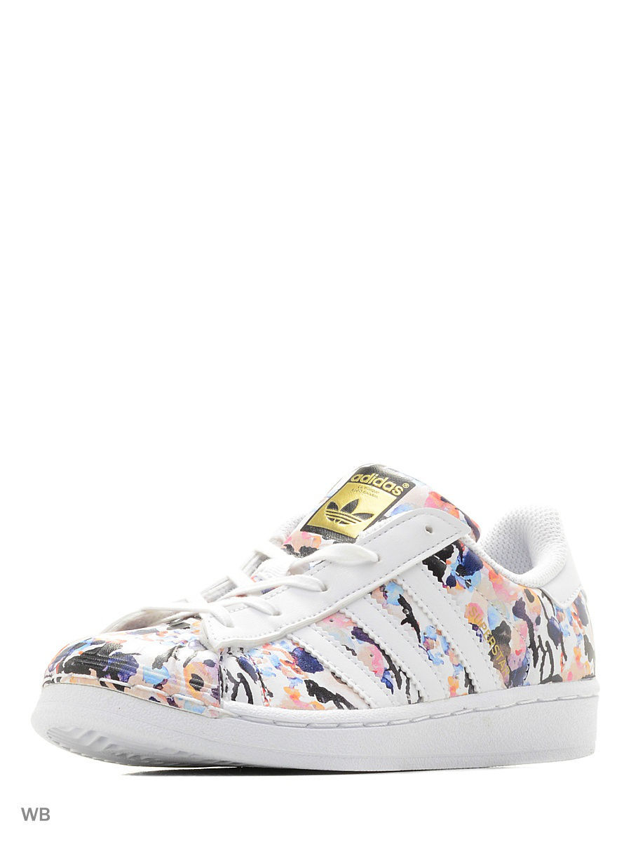 Кроссовки Adidas Кроссовки дет. спорт. SUPERSTAR C adidas x pharrell little kids superstar supercolor