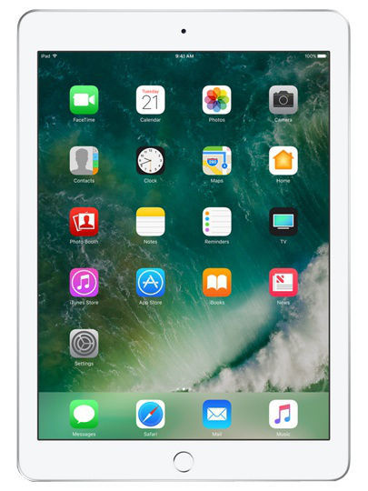 Планшеты Apple Планшет Apple iPad Wi-Fi+Cellular 32GB Silver 2017