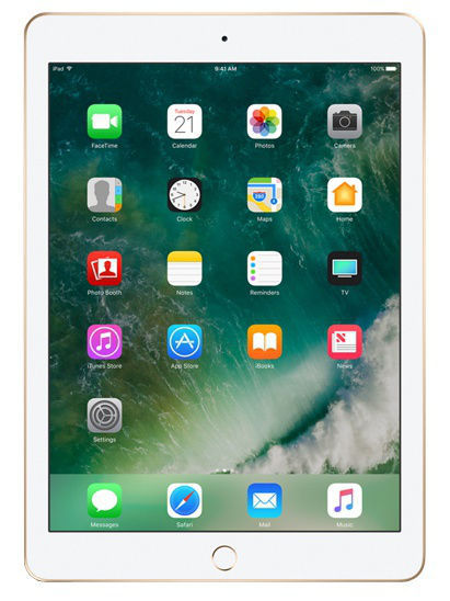 Планшеты Apple Планшет iPad Wi-Fi+Cellular 128GB Gold 2017 планшет apple ipad wi fi 32gb gold золотой 9 7 retina display air 2 apple