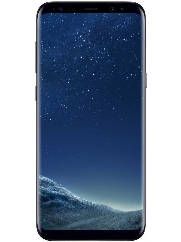 Смартфоны Samsung Смартфон Galaxy S8+ 64Gb Black top menedjer samsung rasskazal chem ydivit galaxy s8