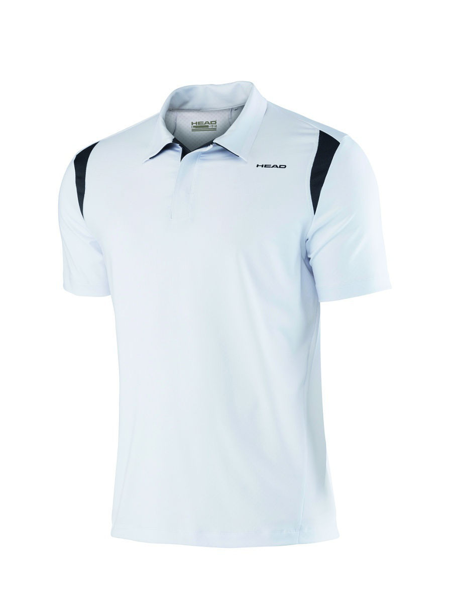 Поло HEAD Футболка-поло Performance Polo Shirt - Cooling (WH)