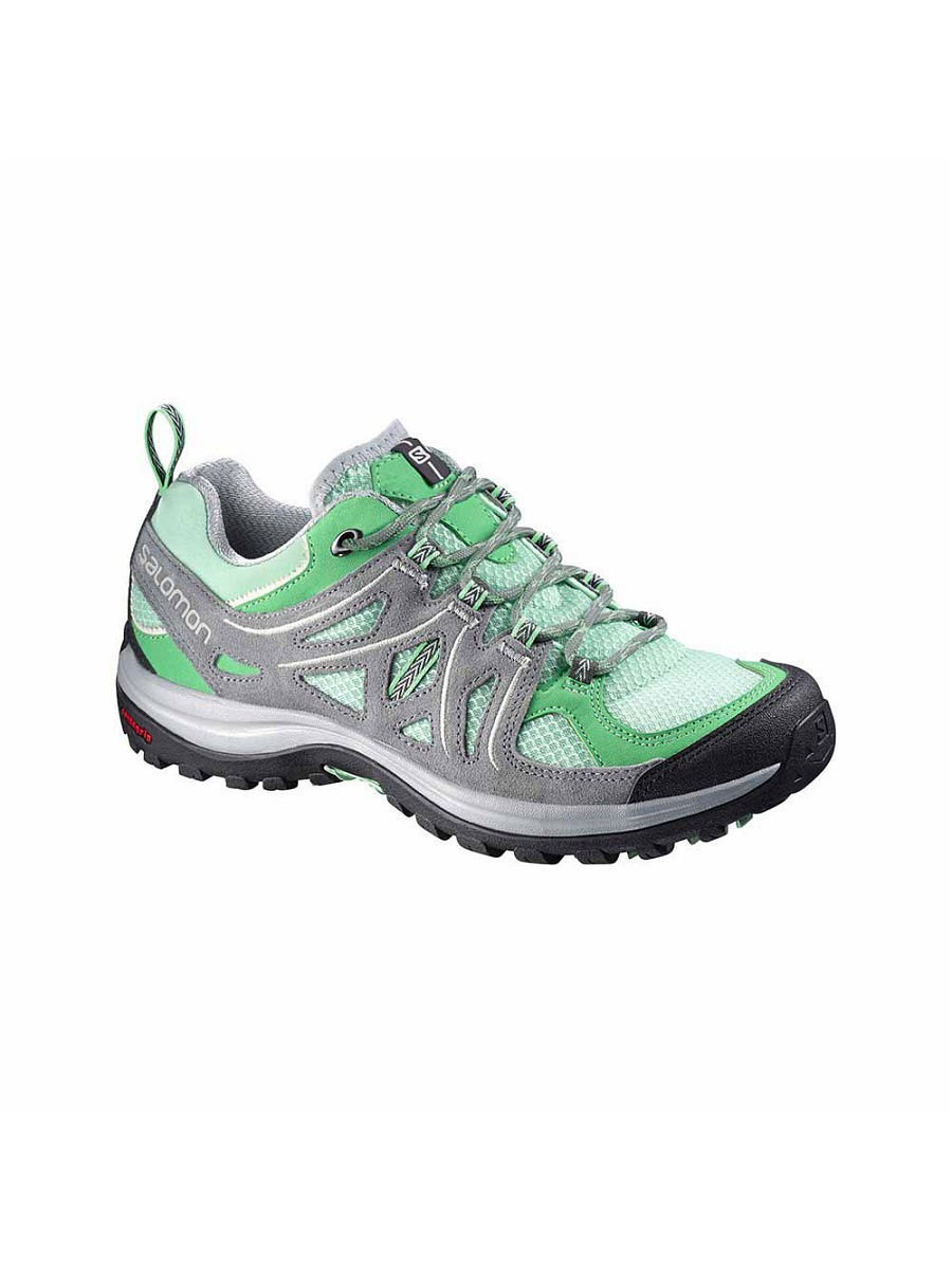 Кроссовки SALOMON Кроссовки SHOES ELLIPSE 2 AERO W LUCITE GRE/GY/GY кроссовки salomon кроссовки shoes xa lite bk quiet shad imperial b