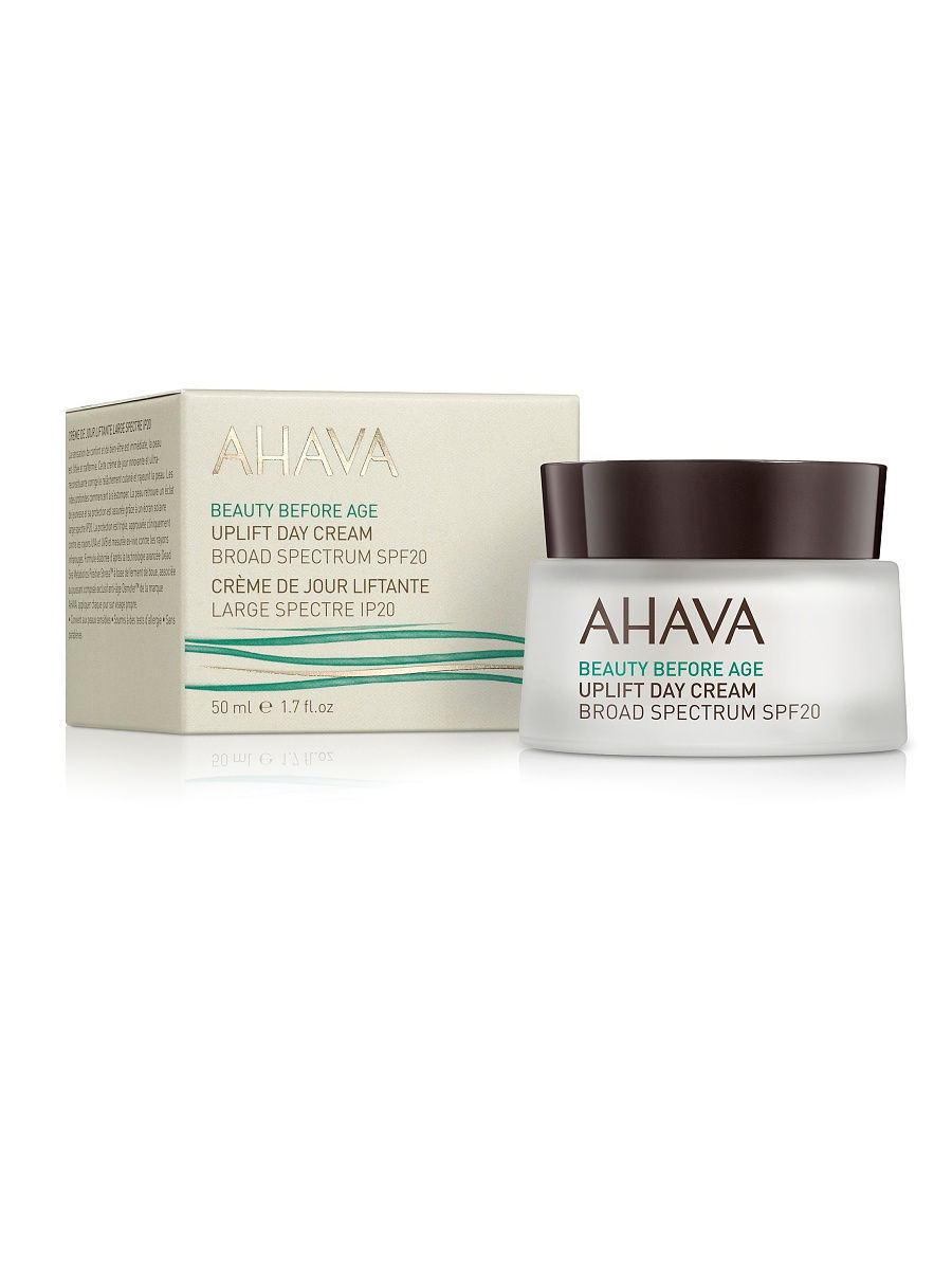 Кремы AHAVA Beauty Before Age Дневной крем для подтяжки кожи лица с широким спектром защиты spf 20, 50 мл hot sales portable mini in ear bluetooth earphone a9 mini wireless stereo music bluetooth csr4 0 earphone hand free earphone