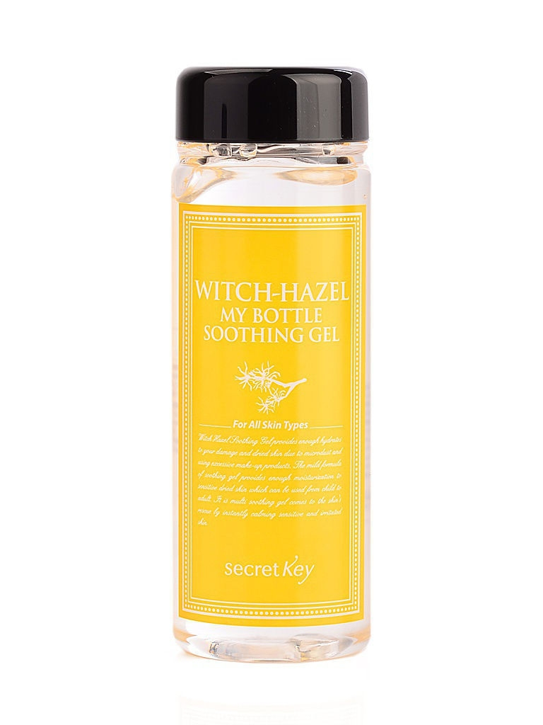 Гели Secret Key Гель для тела с экстрактом гамамелиса Witchhazel My Bottle Soothing Gel 245гр недорого
