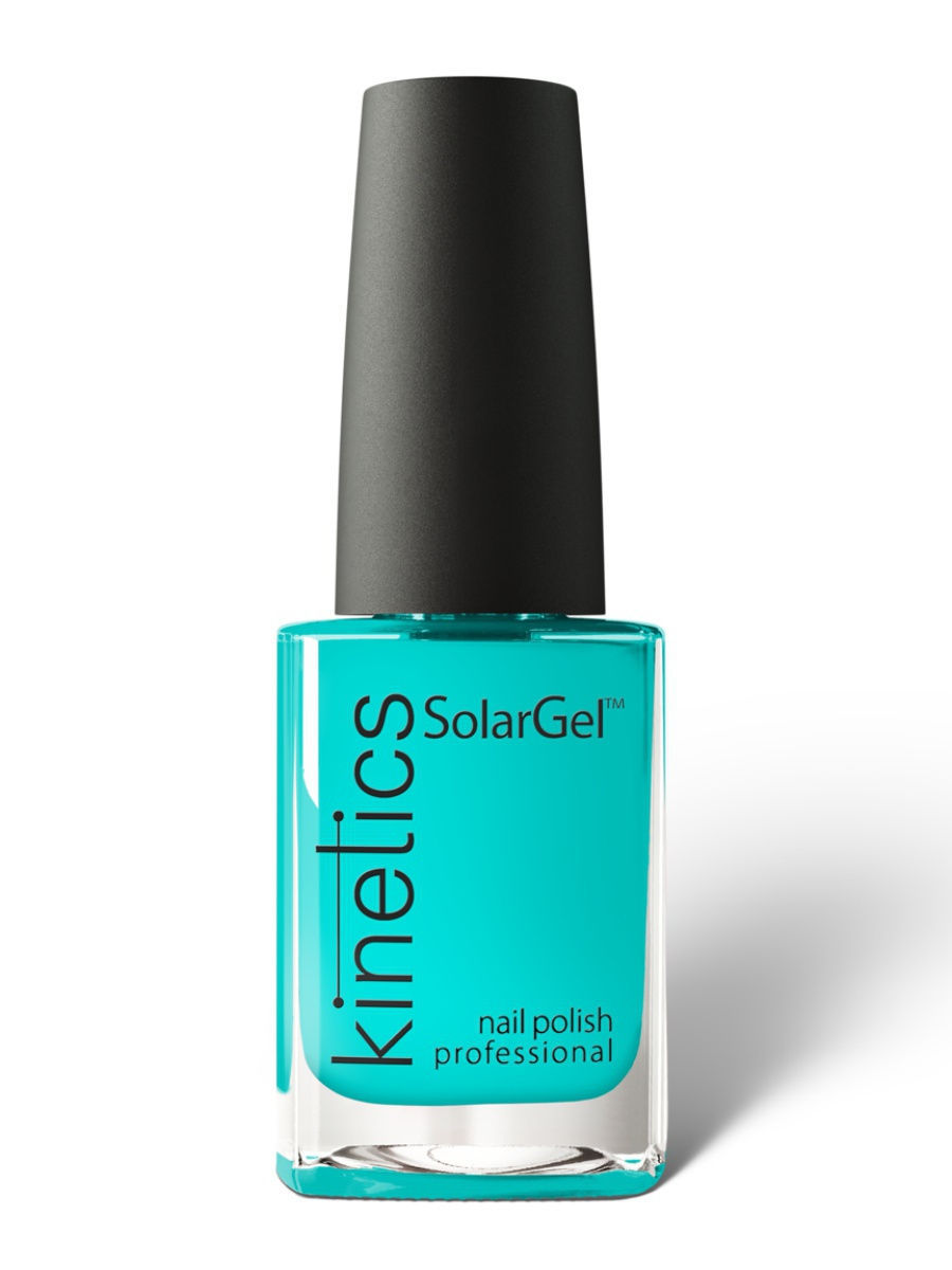 Лаки для ногтей Kinetics Профессиональный лак SolarGel Polish 15 мл, тон № 365 Shark In The Pool купить