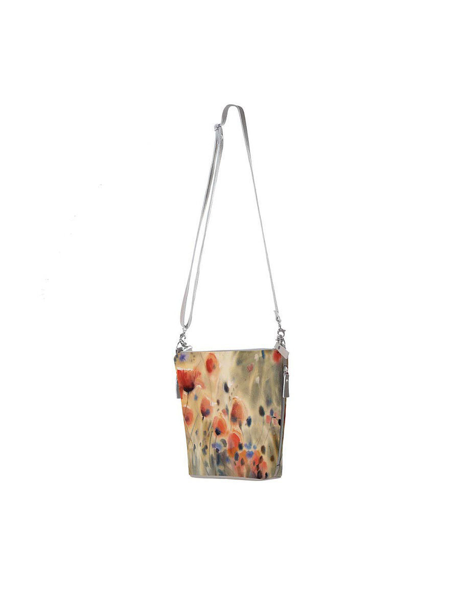 Большая сумка Махаон BAG80356/Flowers/poppies