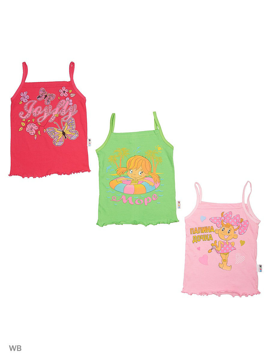Футболка Babycollection 18Baby-61-04/d/розовый,малиновый
