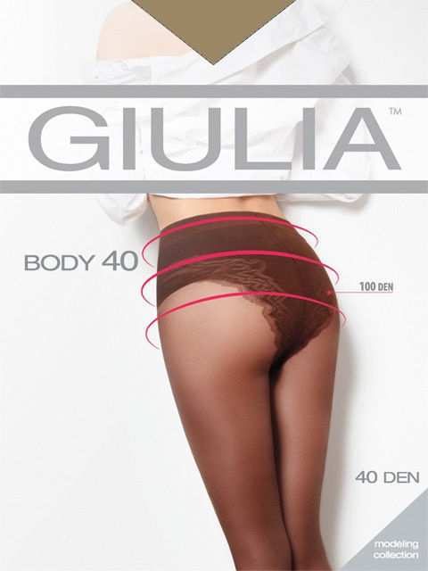 Колготки GIULIA BODY-40/playa