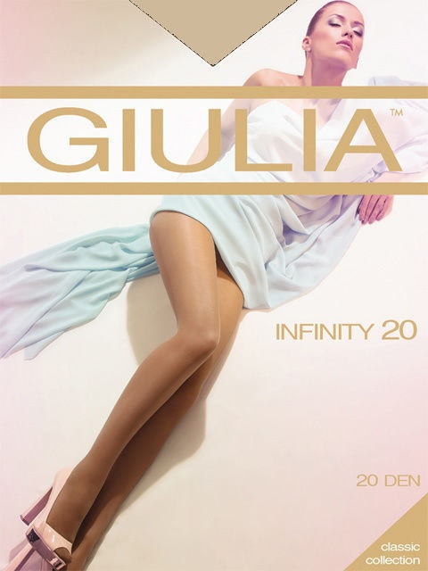 Колготки GIULIA INFINITY-20-X2/honey